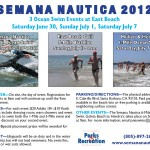 Semana Nautica Ocean Swim Events at East Beach