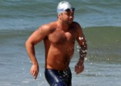 Distance swimmer Evan Morrison won both the Semana Nautica 3-Mile Ocean Swim and the 6-Mile Ocean Swim.